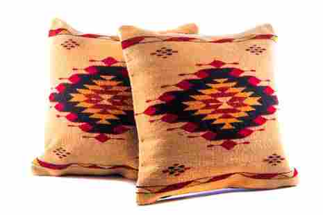 Meli's Star Wool Set of Pillows by Cesar Hipolito
