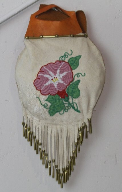 9: Crow Indian Beaded Pouch