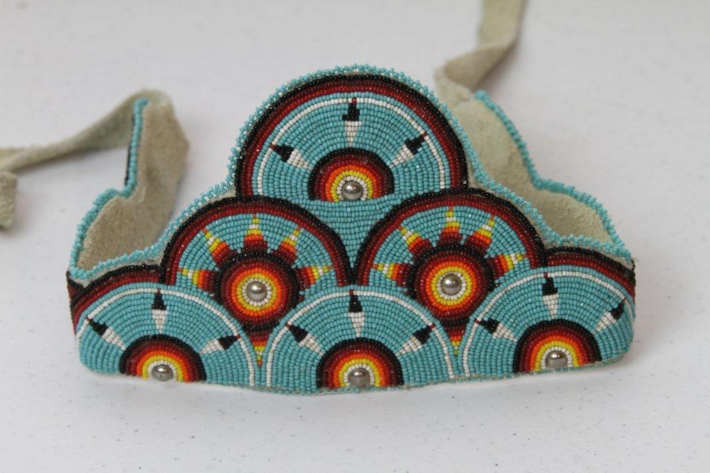 10: Sioux Indian Beaded Headdress