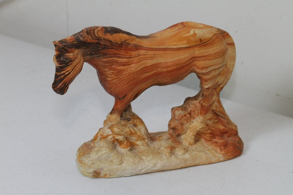 14: Western Horse Sculpture