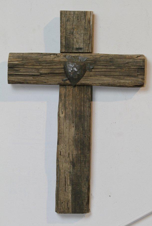15: Antique Wooden Cross