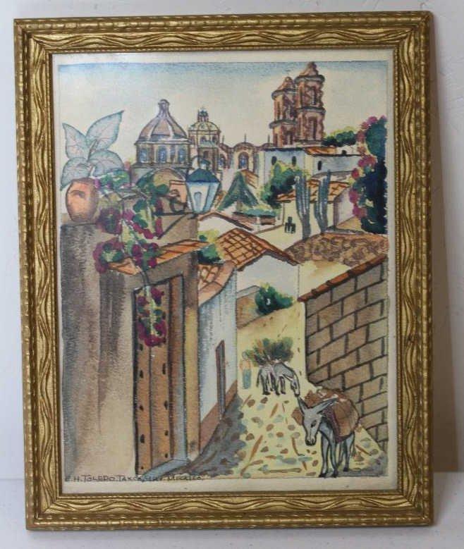 18: E.H. Toledo Original Watercolor