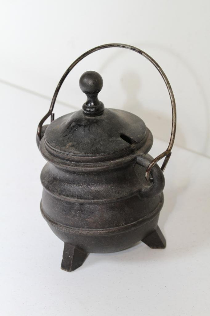 19: Cast Iron Pot with Lid