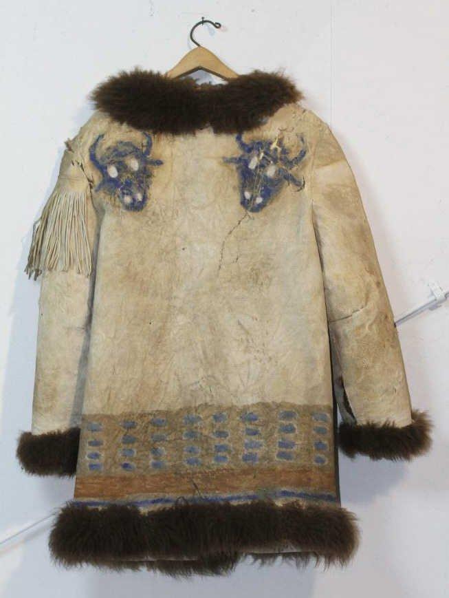 137: Ghost Dance Buffalo Coat circa 1880-1890's
