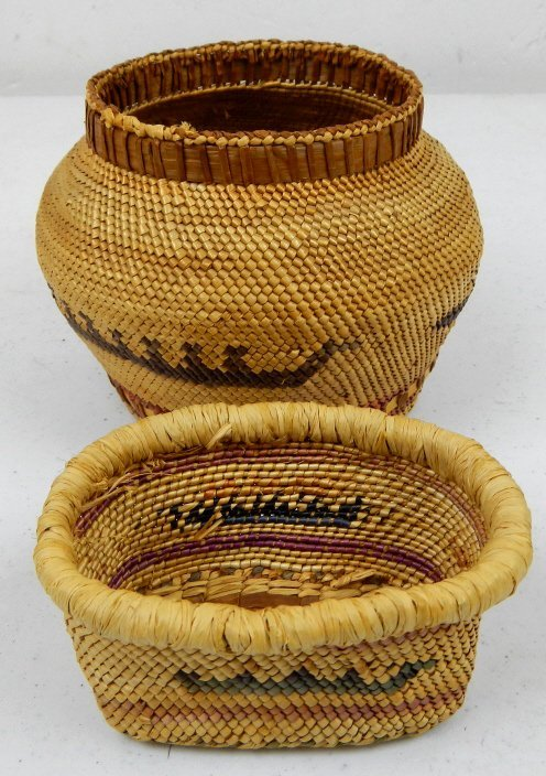 Navajo Trade Baskets