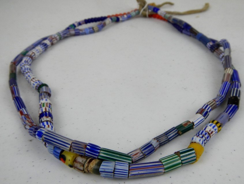 Venetian Dutch Trade Bead Necklace 1700-1800's