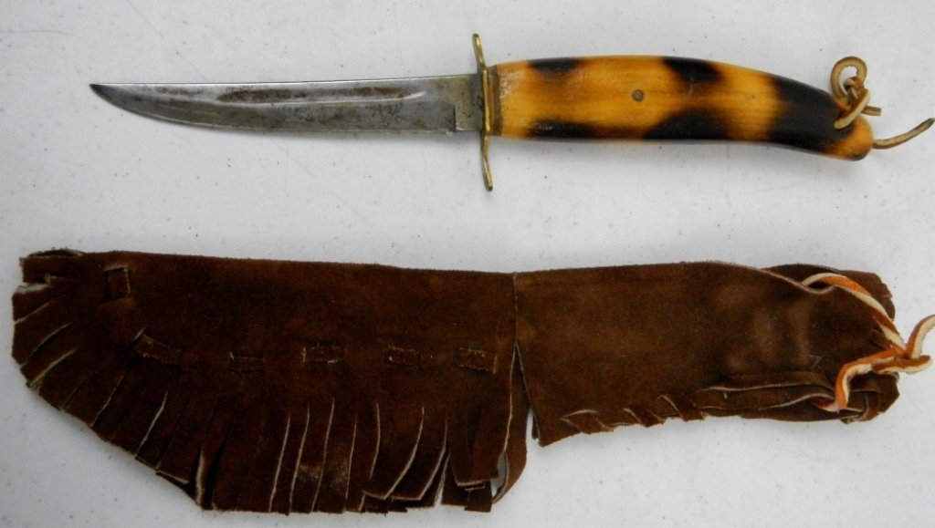 Custom Fixed Blade German Knife