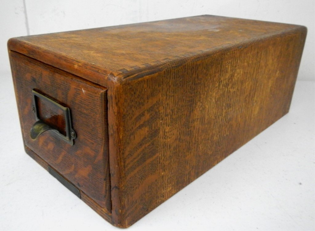 Antique Table Top Cabinet