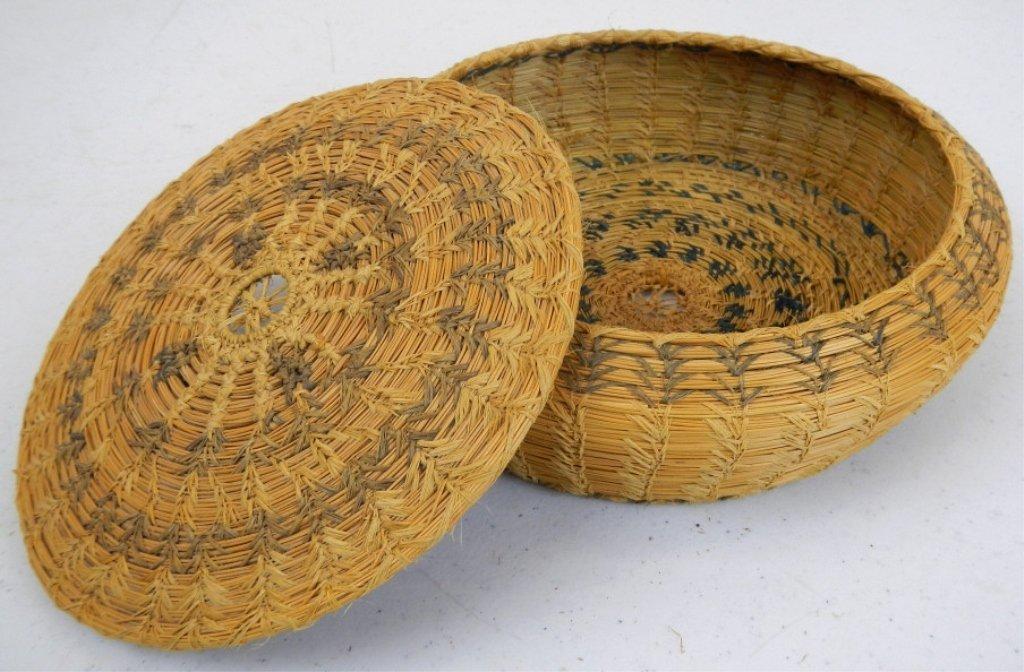 Navajo Trade Basket