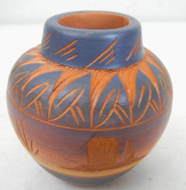 Navajo Red Earth Trade Pot