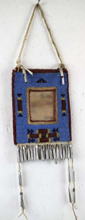 Blackfoot Beaded Mirror