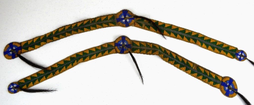 Blackfoot Beaded Pant Strip 1800's