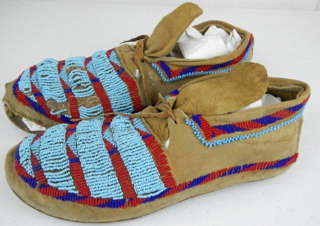 Blackfoot Moccasins 1800's