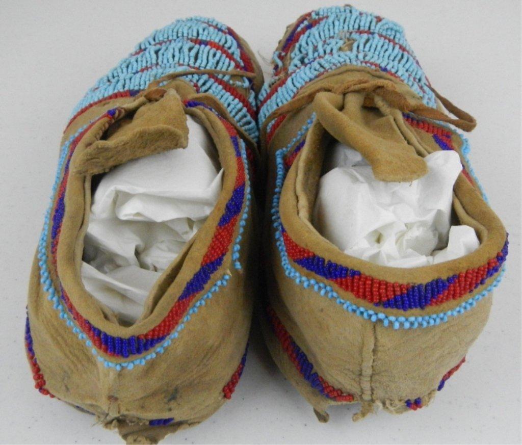 Blackfoot Moccasins 1800's - 5