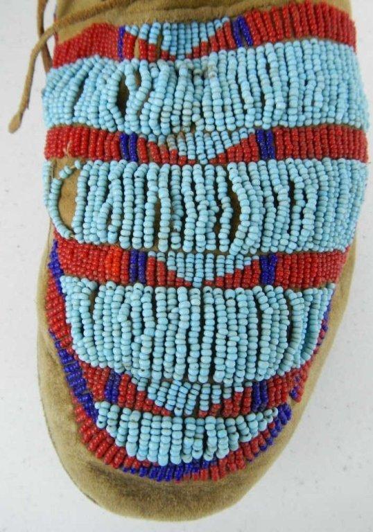 Blackfoot Moccasins 1800's - 8