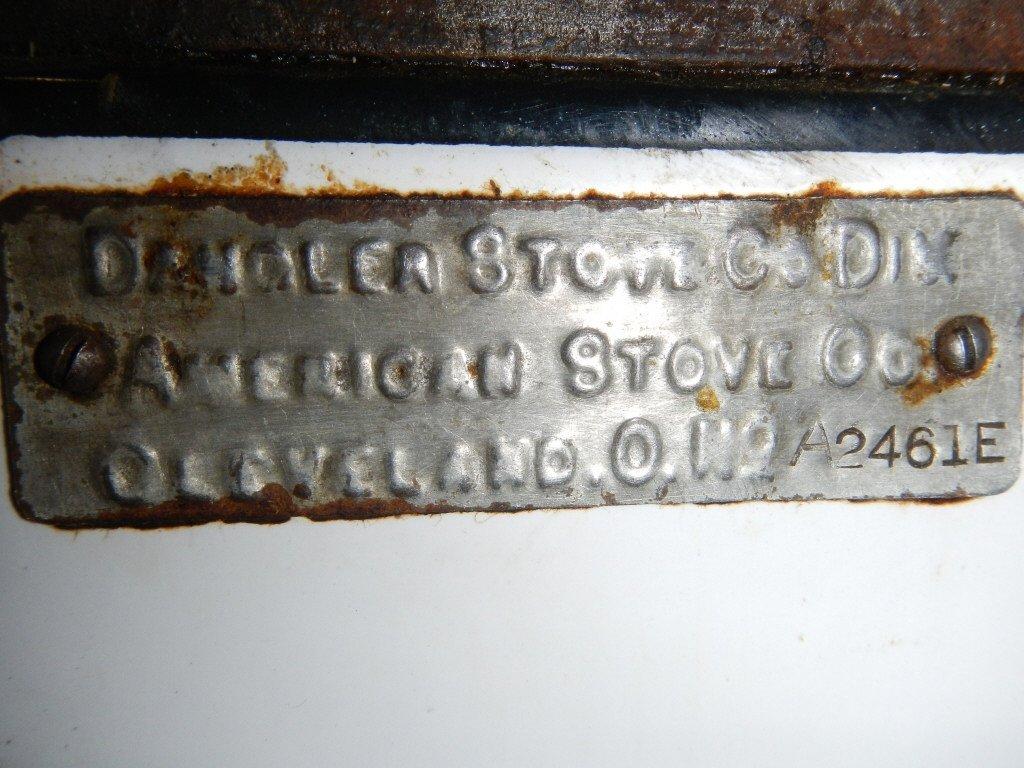 Antique Dangler Stove - 2
