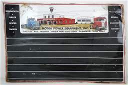 Motor Power Equipment Billings, Montana Metal Sig