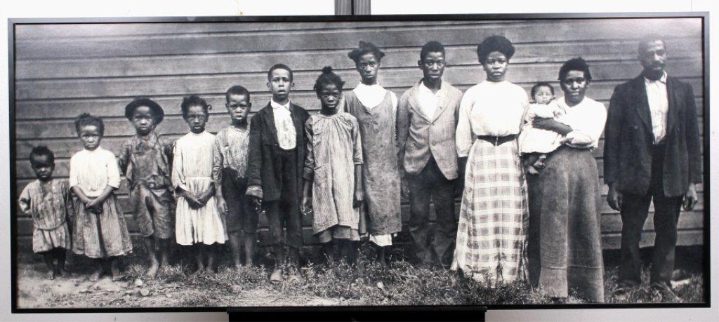 1930's Black Slave Family Photograph