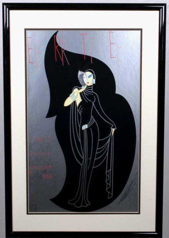 """Crystal Mask"" by Erte (1892-1990)"