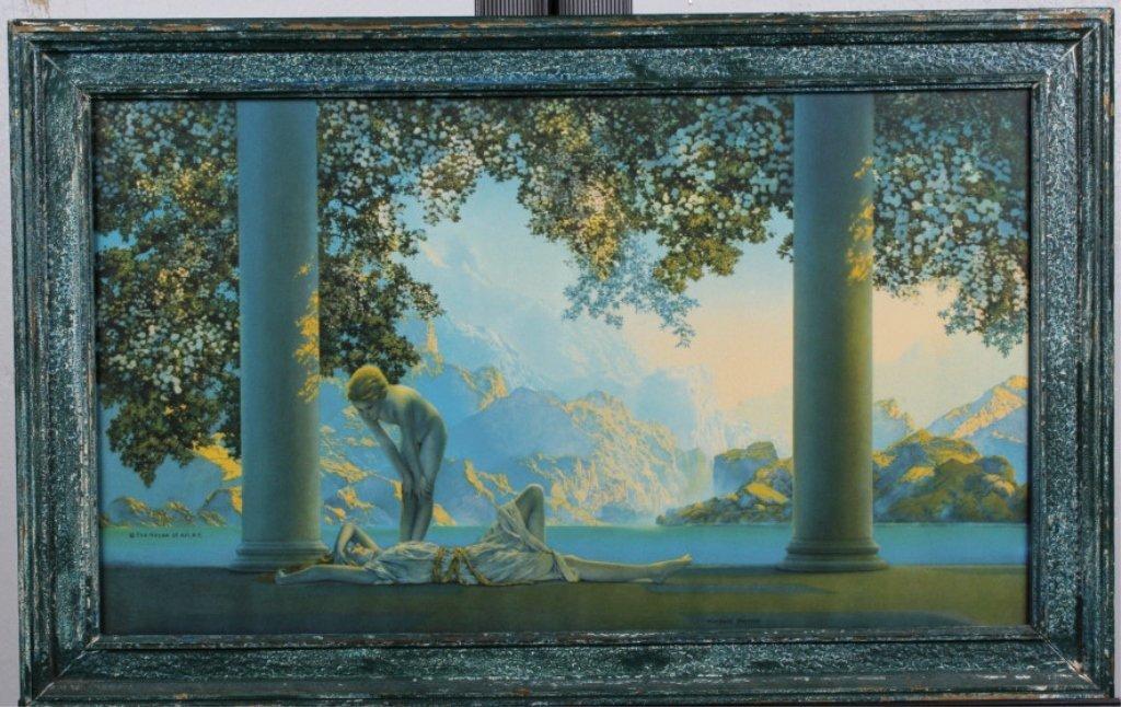 """Day Break"" by Maxfield Parrish (1870-1966)"