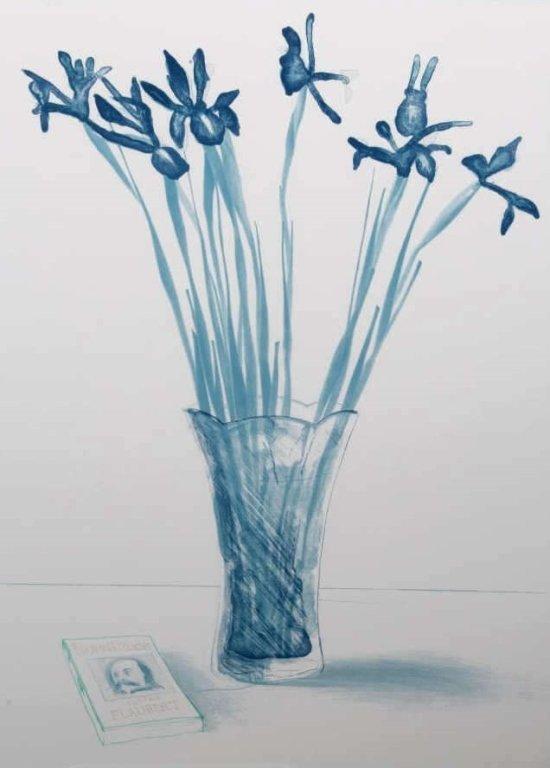 """""""Still Life with Book"""" by David Hockney - 2"""