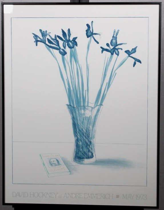 """""""Still Life with Book"""" by David Hockney - 8"""
