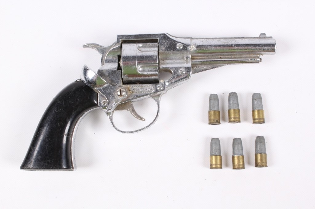 Hubley Remington 36 Toy Gun with Original Bullets