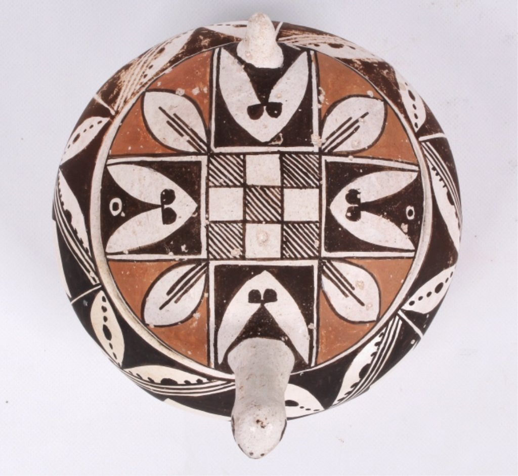 Acoma Pueblo Pottery Turtle Pottery