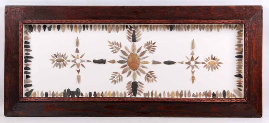 Montana & Idaho Arrowheads Point Framed Collection