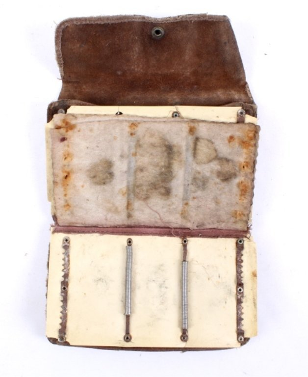 Antique Fishing Creel with Fly-Fishing Wallet - 5