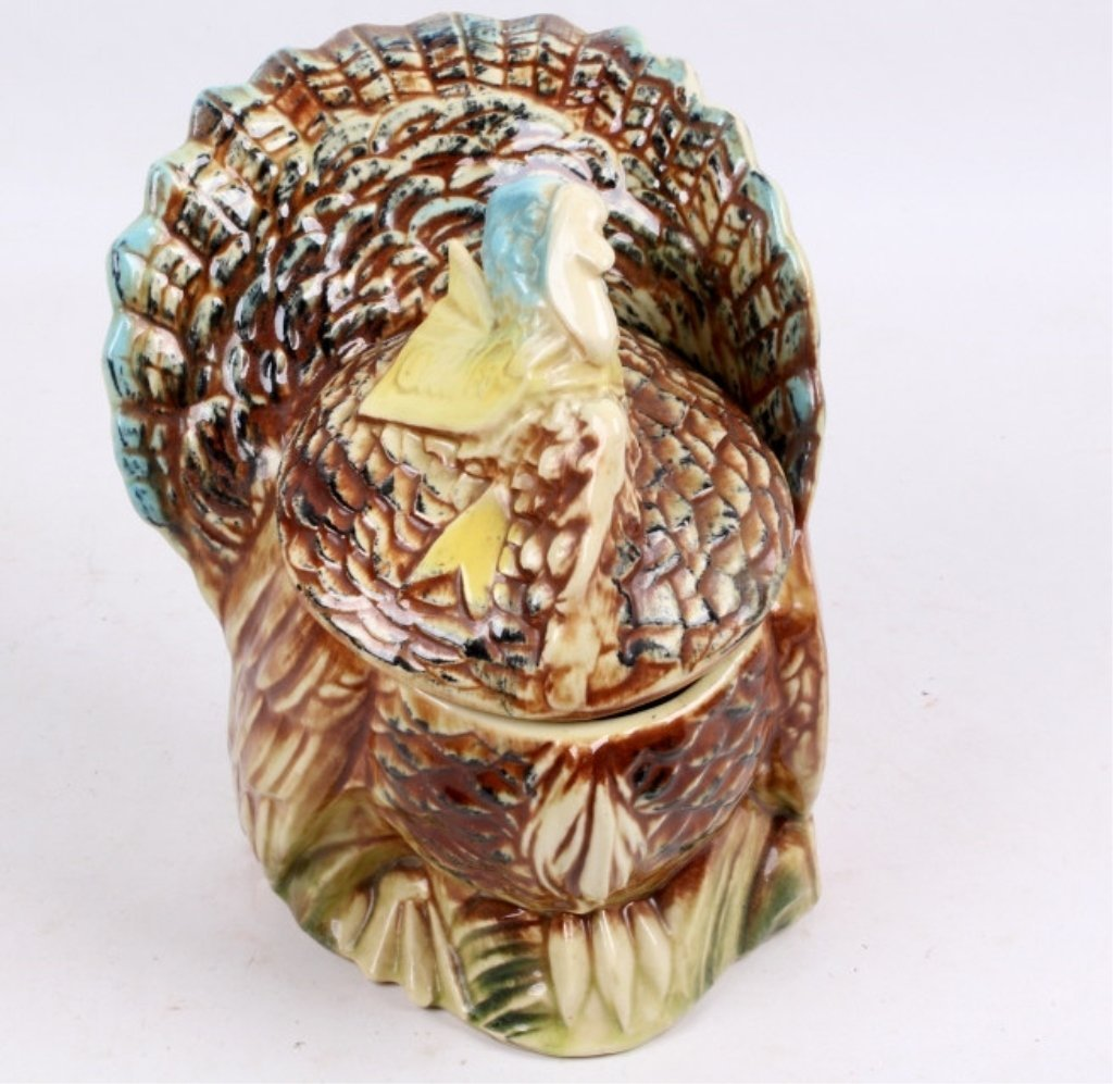Vintage McCoy Turkey Cookie Jar