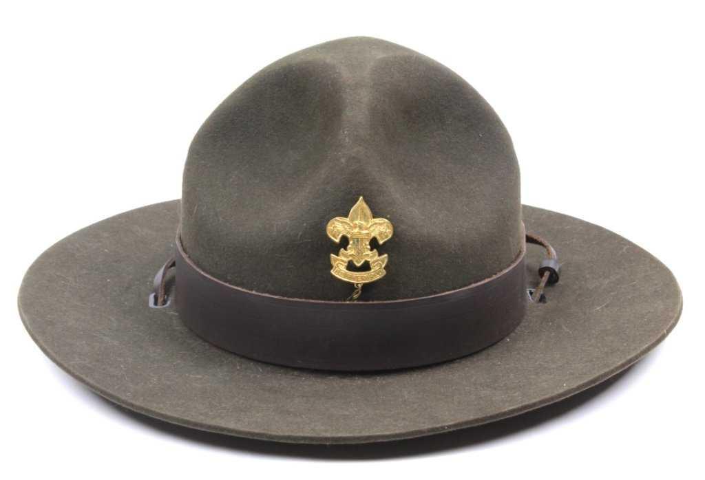 846841c0f5f5d Boy Scout Master Stetson Hat