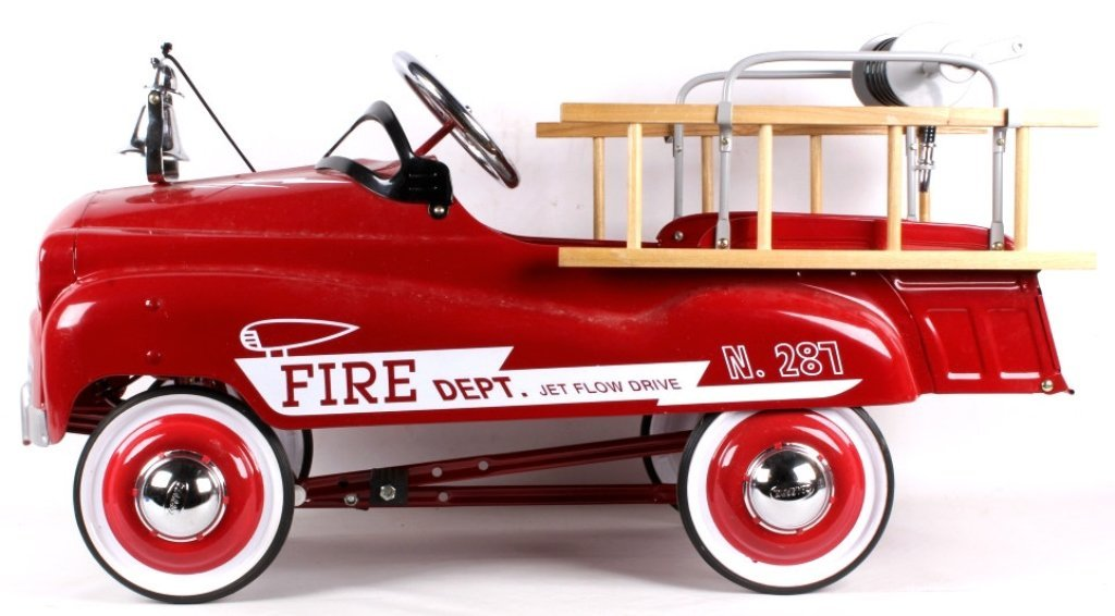 Fire Truck N. 287 Pedal Car (new)