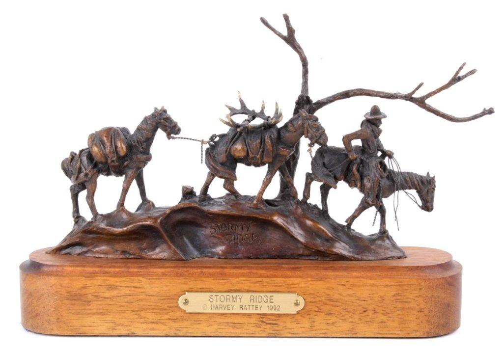 Stormy Ridge by Harvey Rattey Bronze