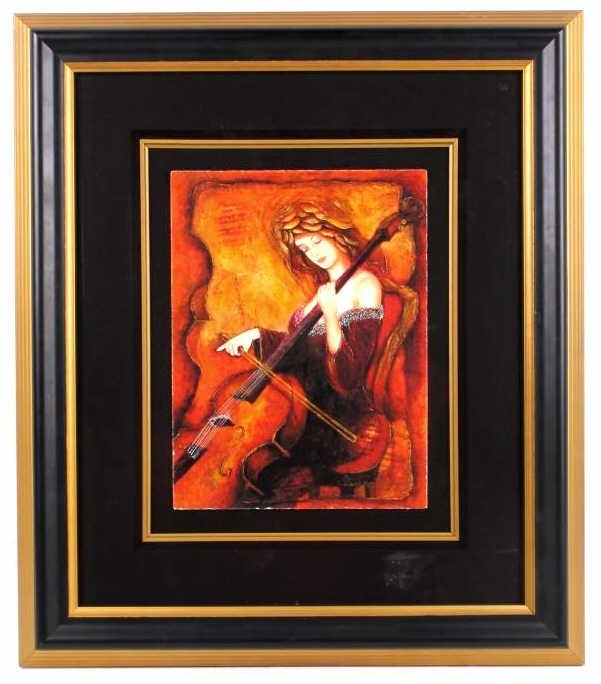 Cello Rhapsody by Charles Lee Giclee
