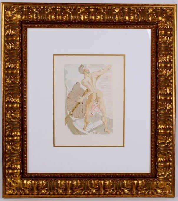 """""""Divine Comedy"""" by Salvador Dali"""