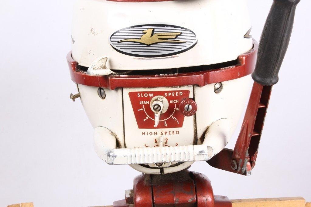 1958 Johnson Seahorse 3 HP Outboard Motor - 2
