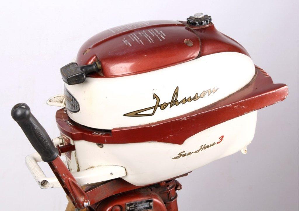 1958 Johnson Seahorse 3 HP Outboard Motor - 5