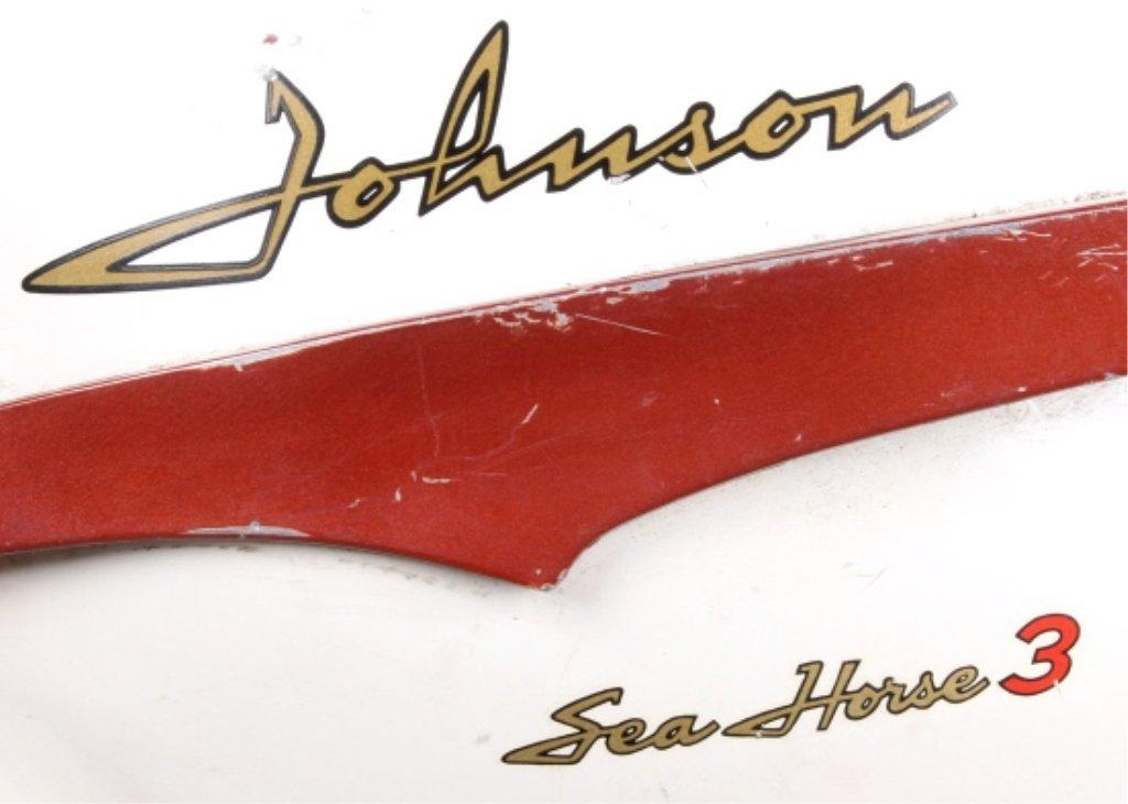1958 Johnson Seahorse 3 HP Outboard Motor - 6