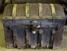 Antique Humpback Trunk