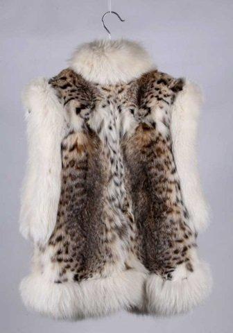 Montana Lynx Fur Vest by Lloyd's
