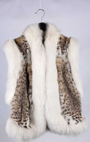 Montana Lynx Fur Vest by Lloyd's - 2