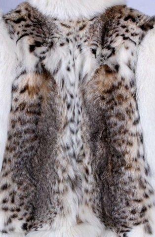 Montana Lynx Fur Vest by Lloyd's - 4