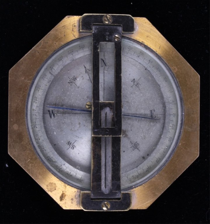 1920-1930's Brass Compass