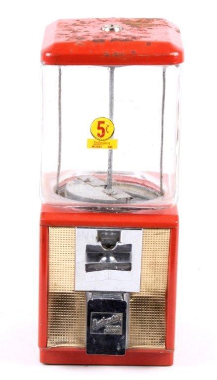 Northwestern Gumball Machine 5 cent Model 60