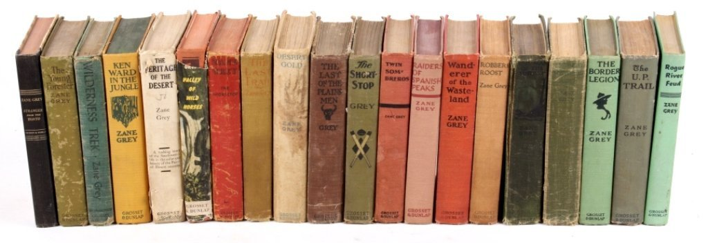 1900-1950's Zane Grey Book Collection