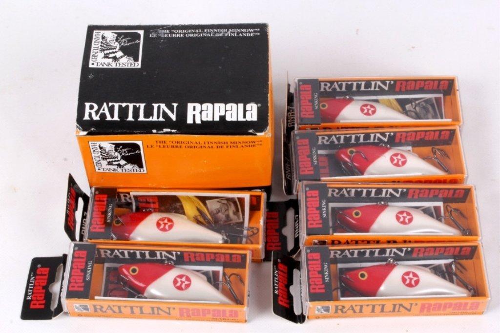 Rattlin' Rapala Finish Texaco Lure Set