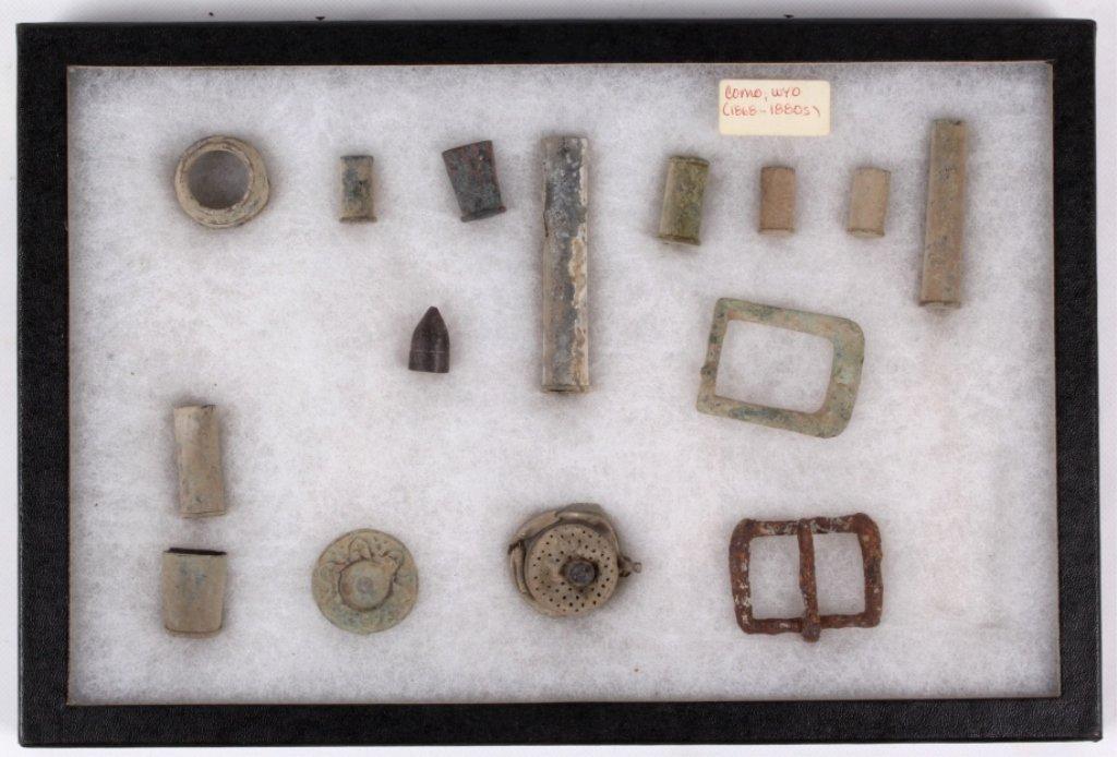 Como, Wyoming Dug Items 1868-1880's