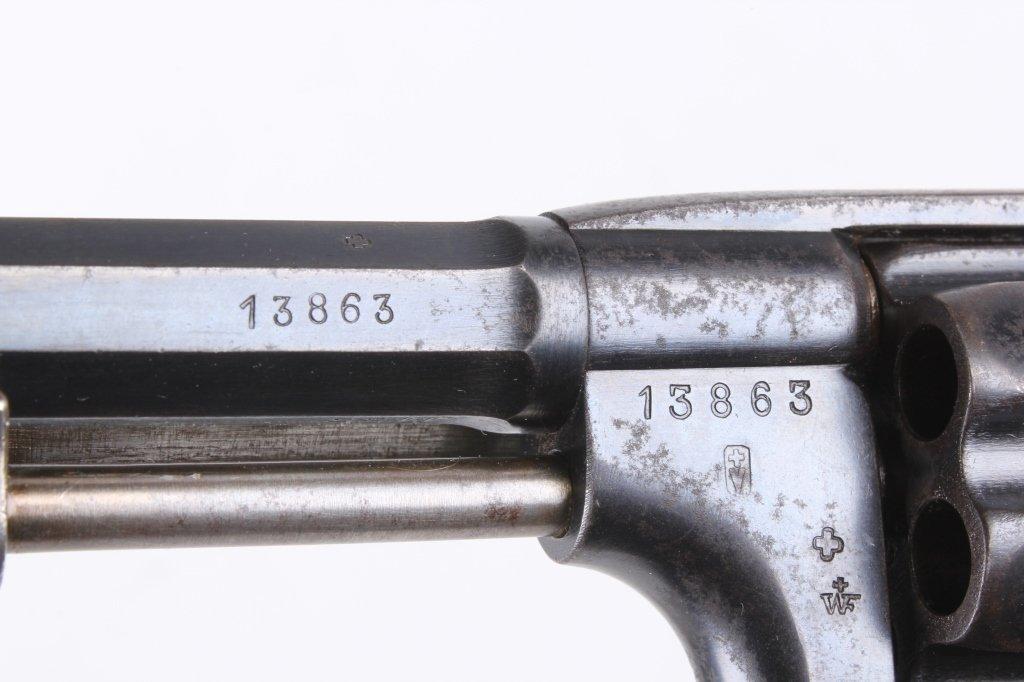 Schmidt M1882 Ordnance Revolver 7.5 cal. - 7