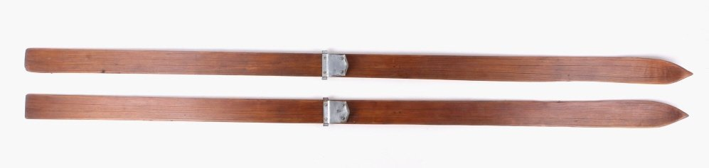 1937-1940's Dartmouth Wooden Skis